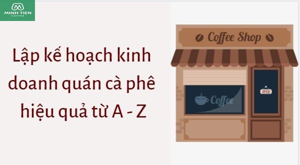 kinh nghiem mo quan cafe