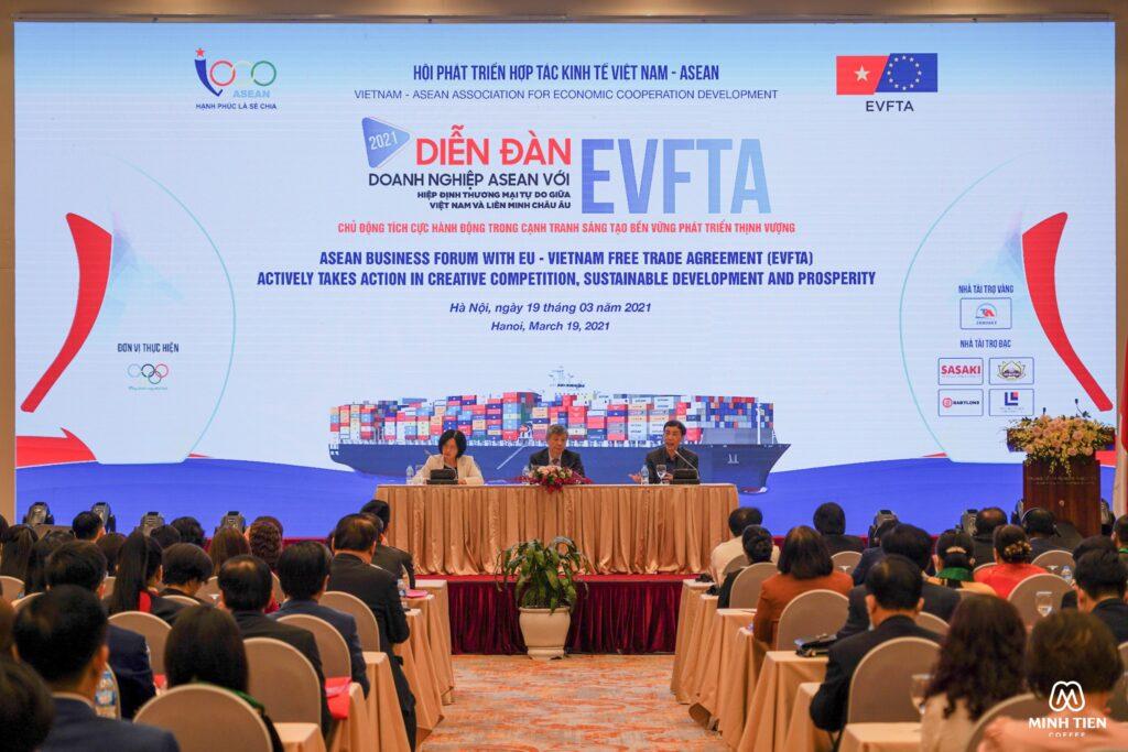 Diễn đàn doanh nghiệp EVFTA