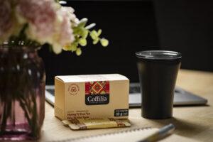 cà phê hòa tan đen coffilia
